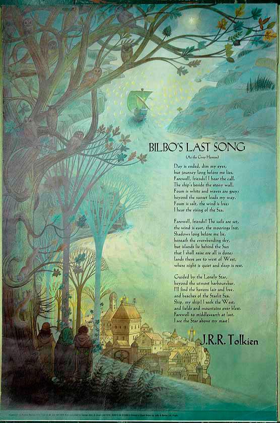 Последната песен на Билбо, ил. Полийн Бейнс