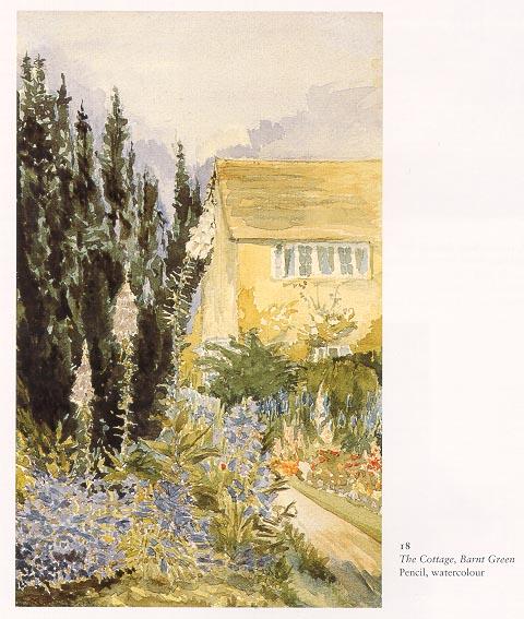 Къщата, Барнт грийн