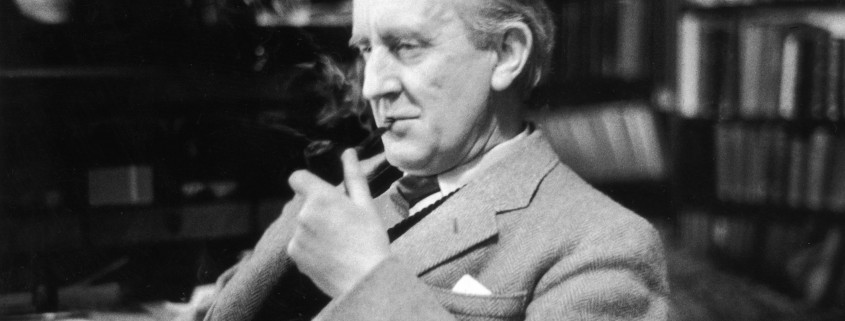 Дж. Р. Р. Толкин, 1955 г.
