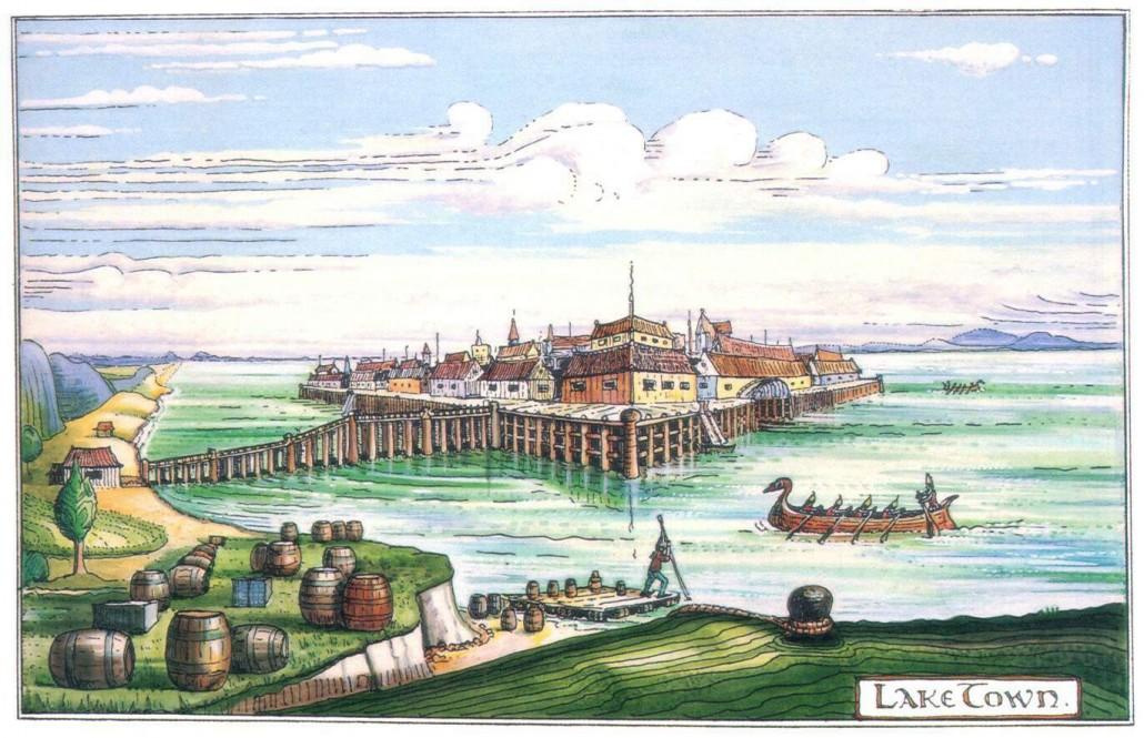 Езерният град