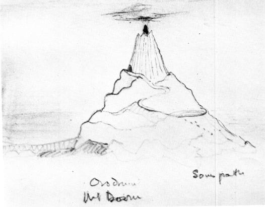 Ородруин − Съдбовната планина