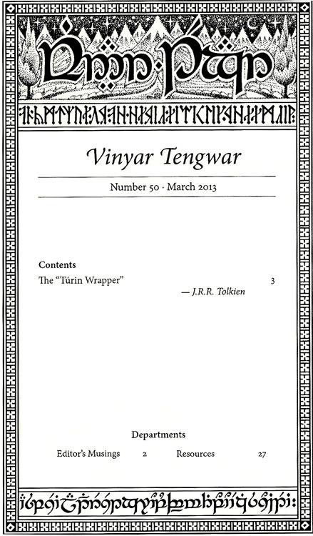Vinyar Tengwar