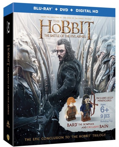 The Hobbit: The Battle of Five Armies Blu-ray