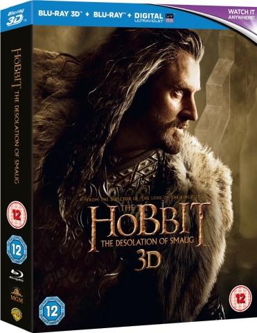Hobbit: The Desolation of Smaug Blu-ray 3D