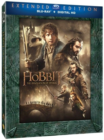 Hobbit: The Desolation of Smaug Extended Edition Blu-ray