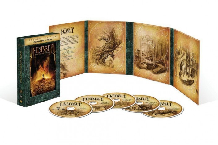 Hobbit: The Desolation of Smaug Extended Edition DVD
