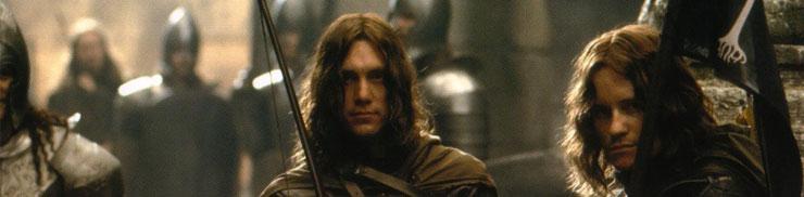 Ройд Толкин като гондорски войник