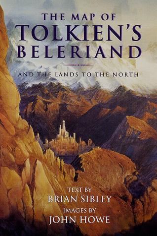 Карта на Толкиновия Белерианд
