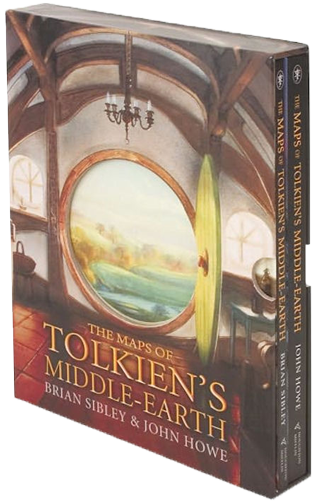 Карти на Толкиновата Средна земя