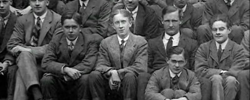 Толкин в Оксфорд, 1915