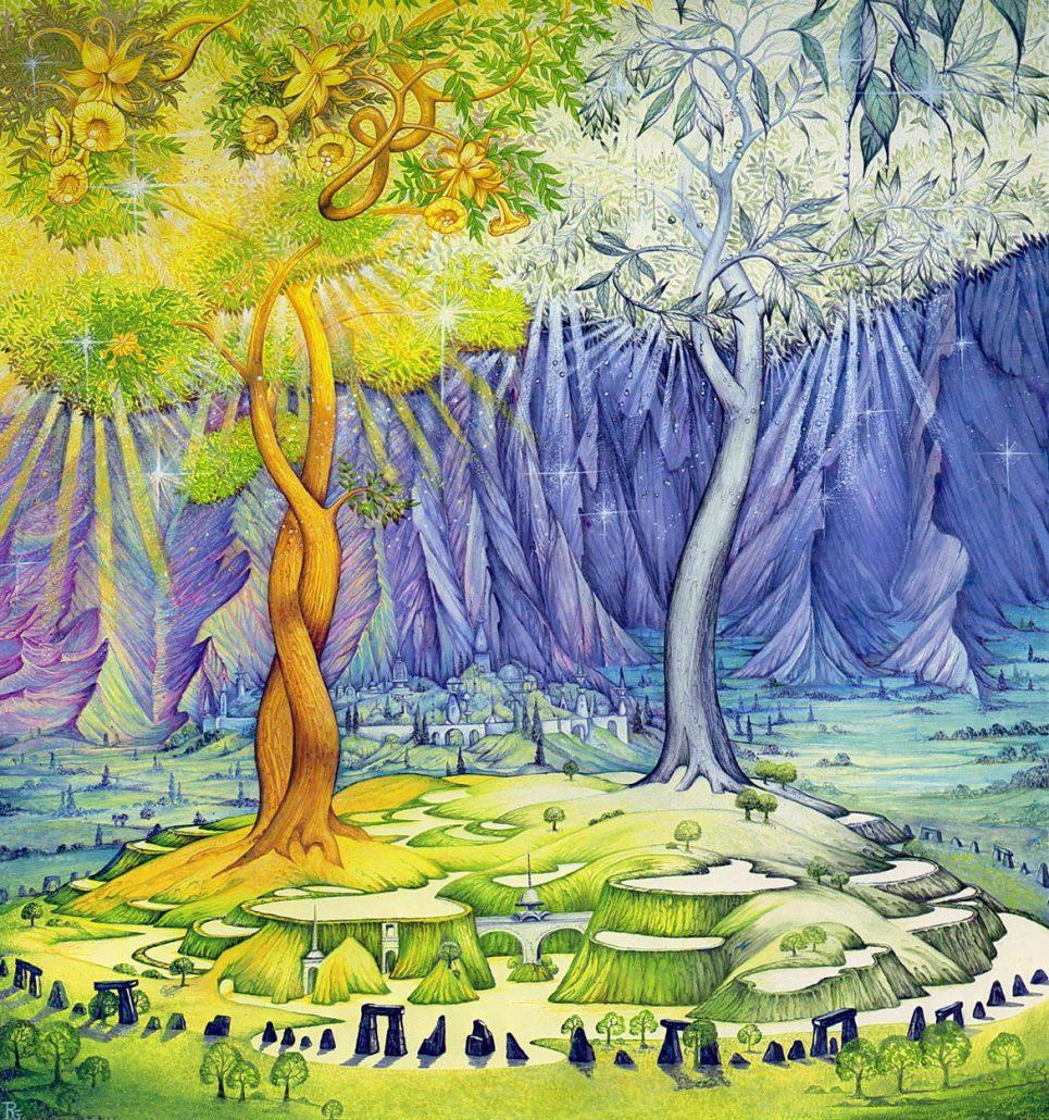 Двете дървета