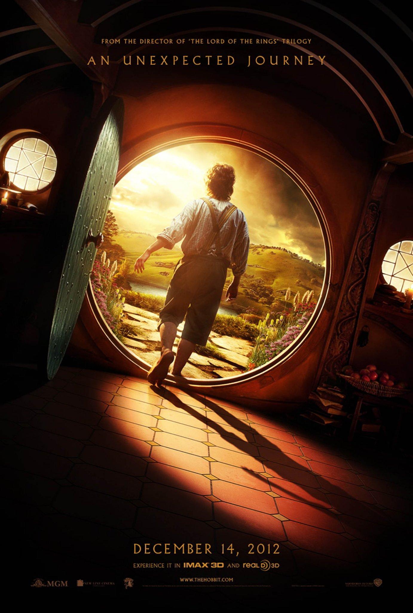 Плакат на Хобит: Неочаквано пътешествие